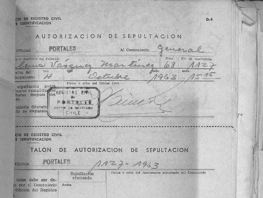 Sepultación Zulema Vásquez Martínez