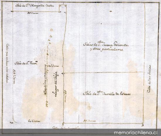 Sitios de la Misión Franciscana y otros, 7 de noviembre de 1771