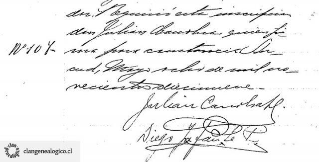 Inscripción de terreno de Huite en Conservador de Bienes Raíces de Ancud