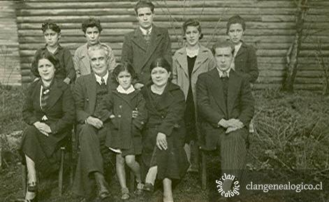 Familia Canobra Vásquez c.1929