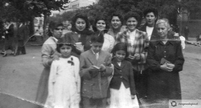 Familia Rivera Pardo, c.1956