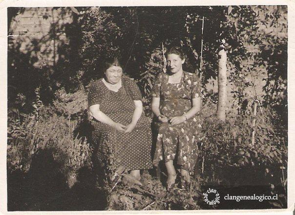 Zulema Vásquez Martínez y su hija Orfa