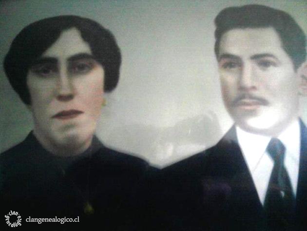 Ramón Canobra Barrientos y María Ester Oyarzún