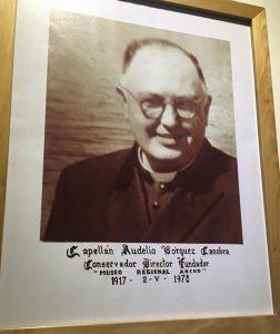 Capellán Audelio Bórquez Canobra